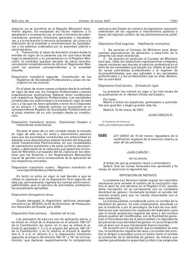 BOE núm. 65 Viernes 16 marzo 2007 11251 dispone, no se inscribirá en el Registro Mercantil docu- mento alguno. Se exceptúa...
