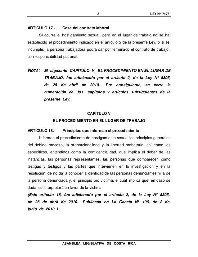 Ley 7476 for Contrato laboral para empleadas domesticas