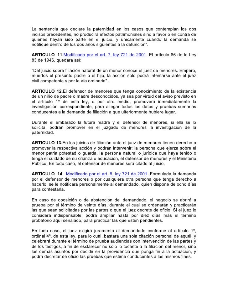 LEY 721 DE 2001 PDF DOWNLOAD