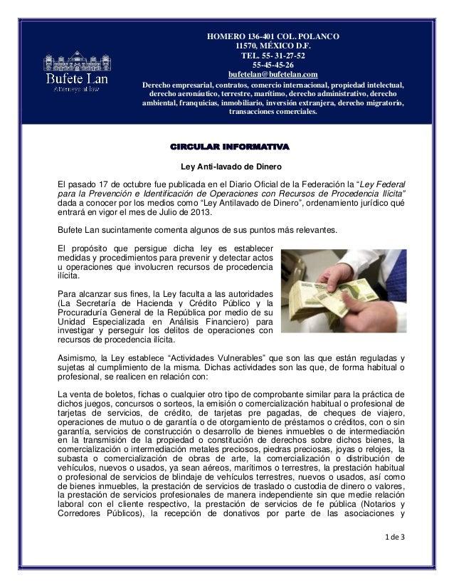 HOMERO 136-401 COL. POLANCO                                                  11570, MÉXICO D.F.                           ...