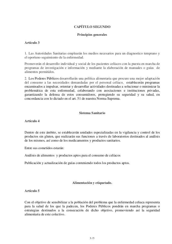 CAPÍTULO SEGUNDO                                      Principios generalesArtículo 31. Las Autoridades Sanitarias empleará...