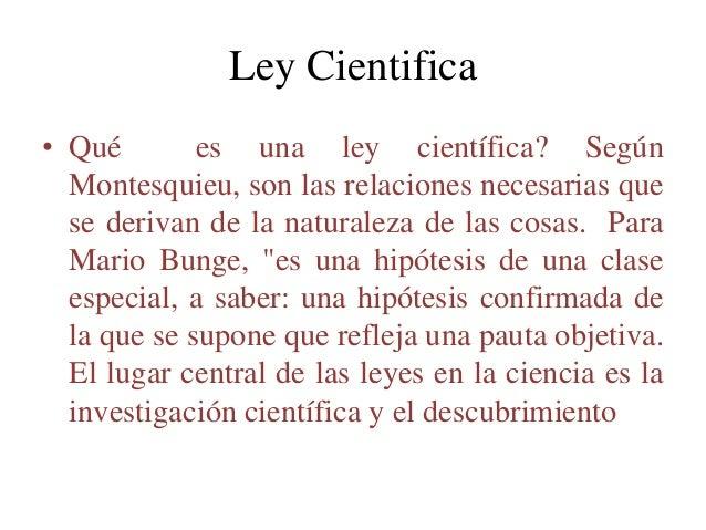 Ley cientifica presentacion Slide 3