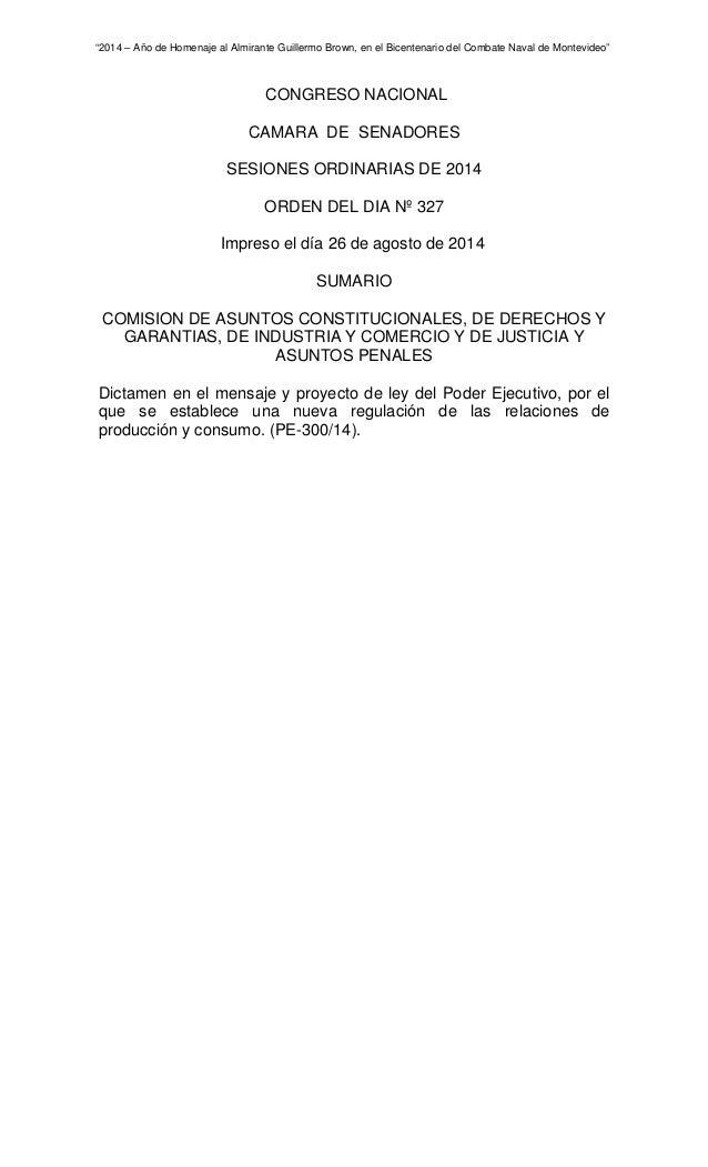 """""""2014 – Año de Homenaje al Almirante Guillermo Brown, en el Bicentenario del Combate Naval de Montevideo""""  CONGRESO NACION..."""
