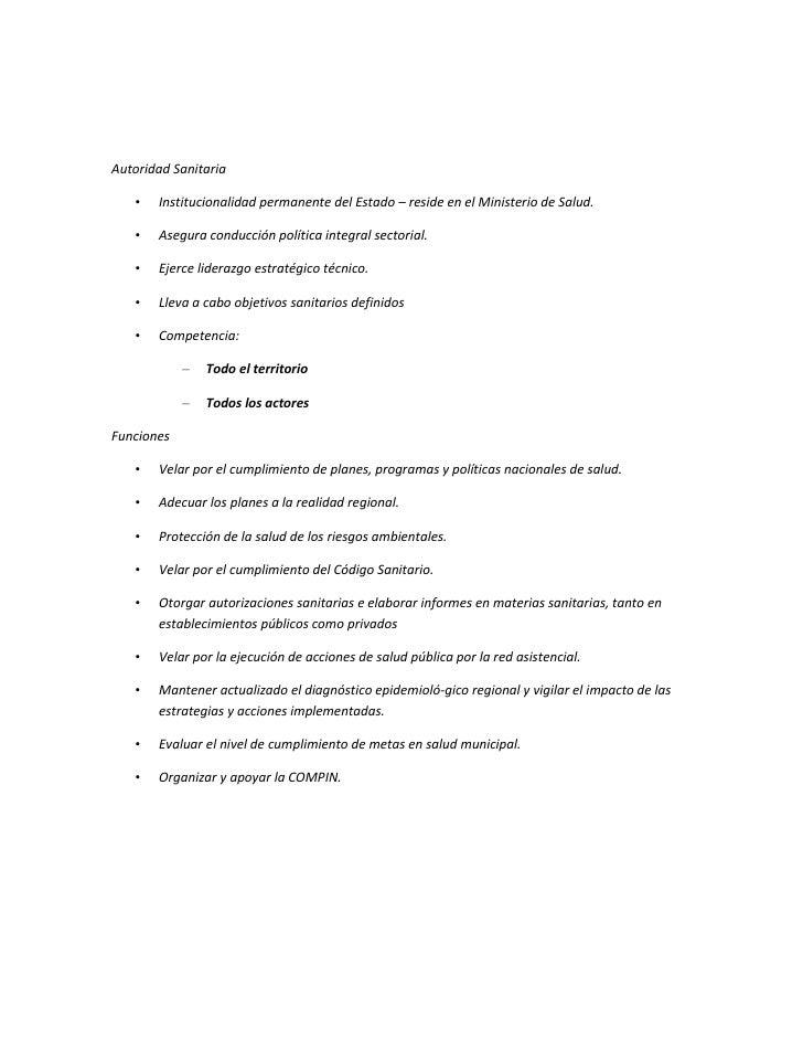 Ley de autoridad sanitaria y gestión Slide 2