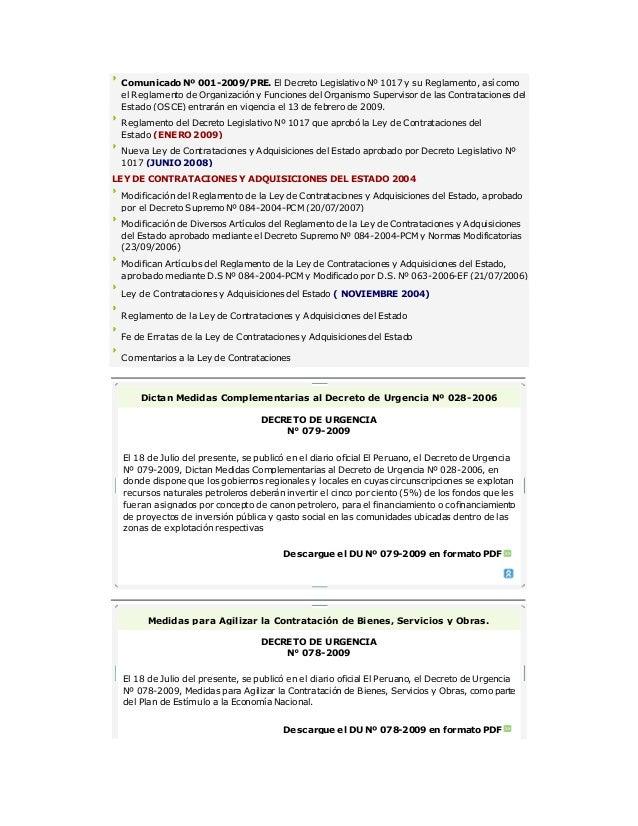 contrataciones con el estado peru pdf