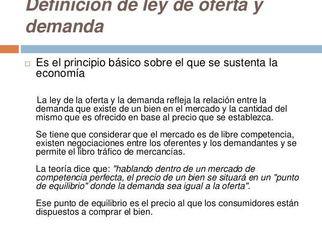 ley de oferta y demanda pdf