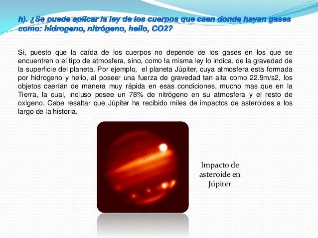 Siendo una atmosfera de dióxido de carbono, como en el caso de Marte, los objetos igualmente caen y se ha demostrado en lo...