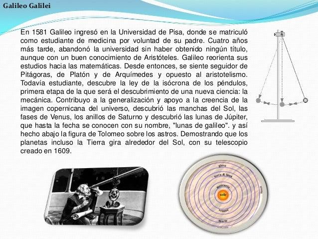 La primera Teoría de Relatividad fue desarrollada por Galileo Galilei (1564-1642), creador del método científico, como res...