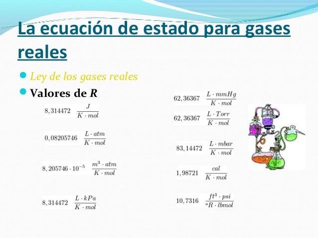 Ley de los gases ideales (1)
