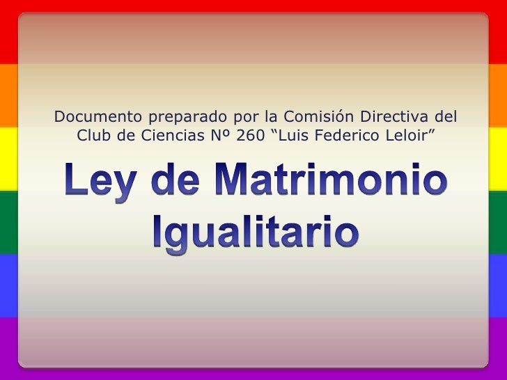 Matrimonio Igualitario Biblia : Ley de matrimonio igualitario