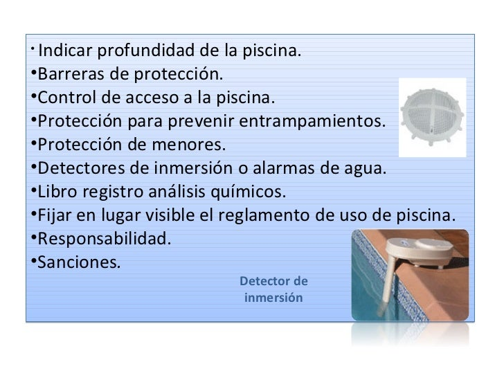 ley de piscinas presentacion