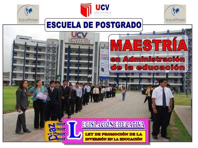 DECRETO LEGISLATIVO Nº 882 LEY DE PROMOCIÓN DE LA INVERSIÓN EN LA EDUCACIÓN