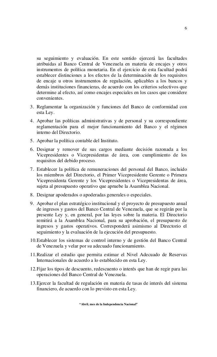 Ley politica habitacional banco venezuela planilla for Oficina del banco de venezuela