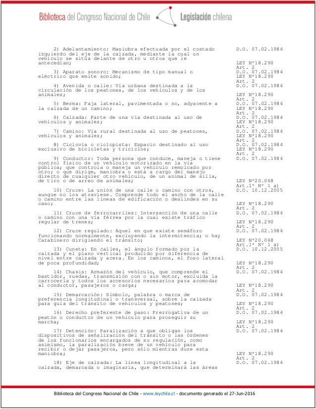 Ley Del Transito 18290 Actualizada Download