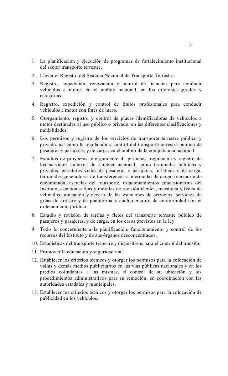 Ley de tránsito y transporte terrestre en Venezuela