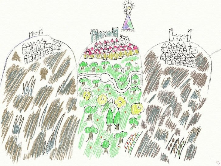 Leyenda de la Virgen de Dos Aguas Slide 3
