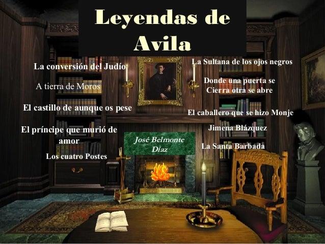 Leyendas de                      Avila                                                 La Sultana de los ojos negros   La ...
