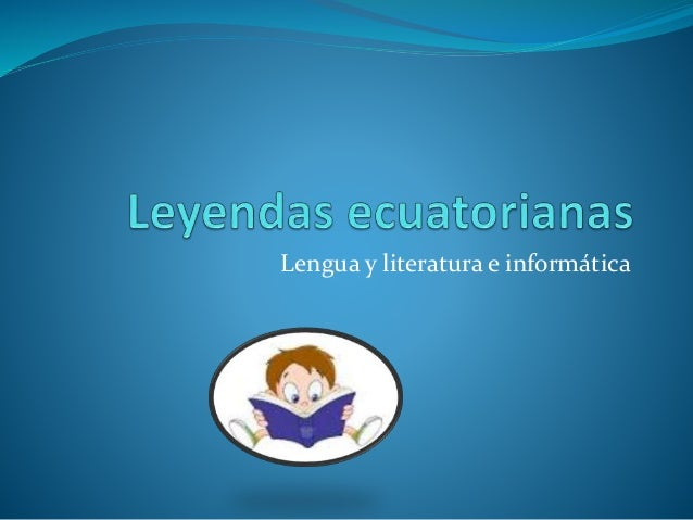 Lengua y literatura e informática
