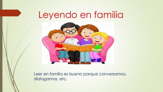 leyendo en familia