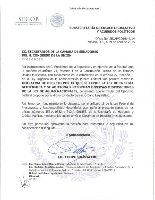 Ley energia goetermica_y_ley_aguas_nac