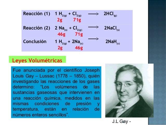 Reacción (1)   1 H2(g) + Cl2(g)        2HCl(g)                    2g       71g    Reacción (2)   2 Na(s) + Cl2(g)        2...