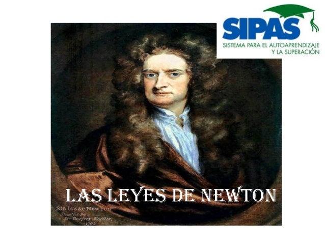 LAS LEYES DE NEWTON