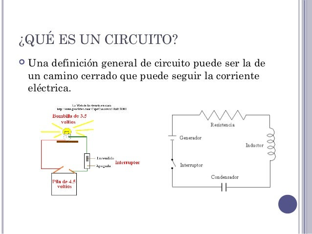 Circuito Significado : Leyes circuitos