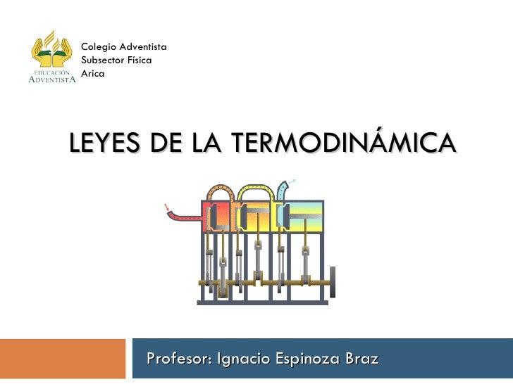 Leyes de la termodinmica