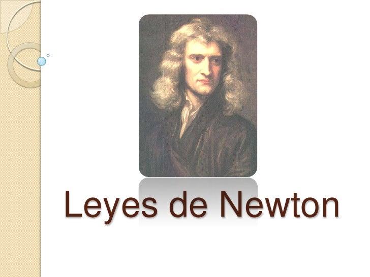 Leyes de Newton<br />