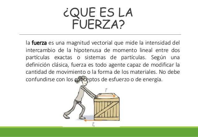 Leyes de newton for Fuera definicion