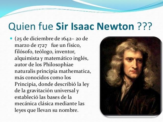 leyes de newton presentacion