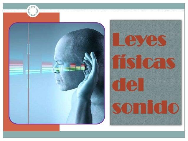 Leyes físicas del sonido