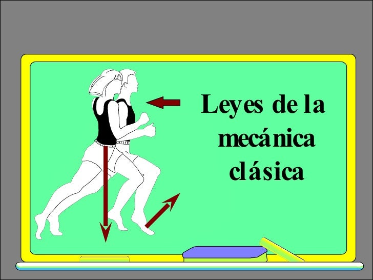Leyes de la  mecánica clásica