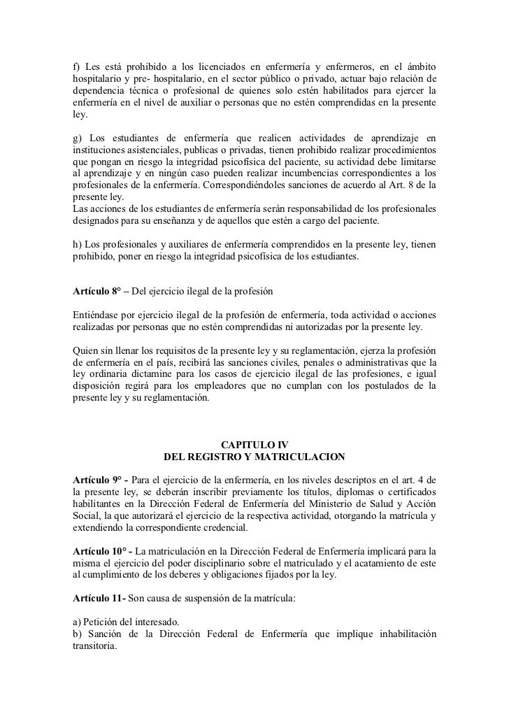 Anteproyecto de Ley de Enfermeria de Lalo Arellano via el Dip. Rivas
