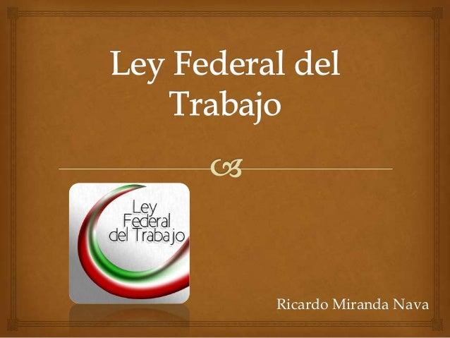 Ricardo Miranda Nava