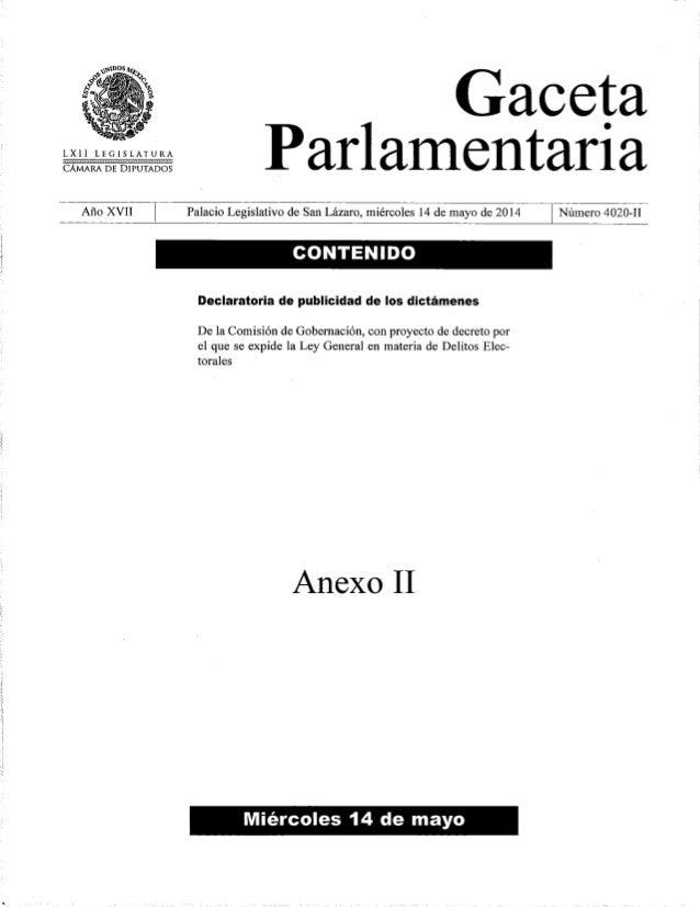 Ley General en Materia de Delitos Electorales