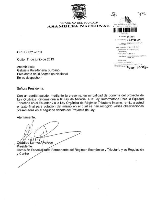 .5bREPUBLICA DEL ECUADORASAI/f,EB I-EA I§AC I O I[AI-ffit lllllllllll{,ulJ] llll llllr rrámite 14lOO4codiso vdlirlacjón ,H...
