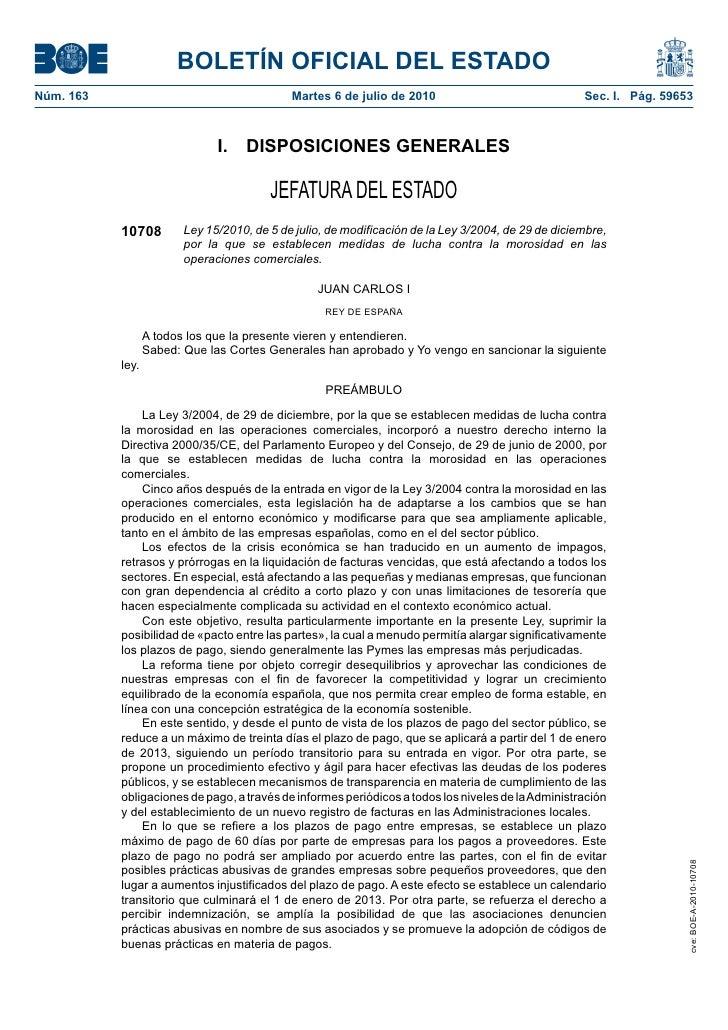 BOLETÍN OFICIAL DEL ESTADO Núm. 163                                     Martes 6 de julio de 2010                         ...