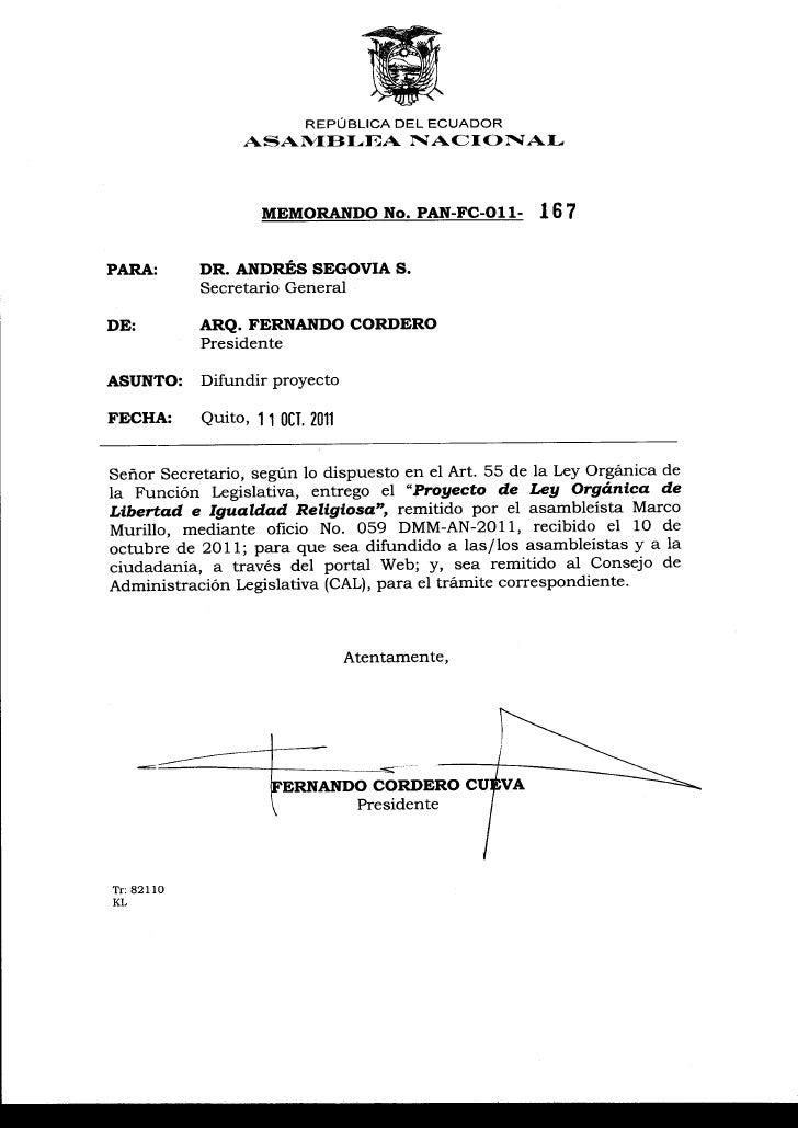 """A """" Ì A M [M i.A         NACIONAL                                     REPÚBLICA DEL ECUADOR                               ..."""