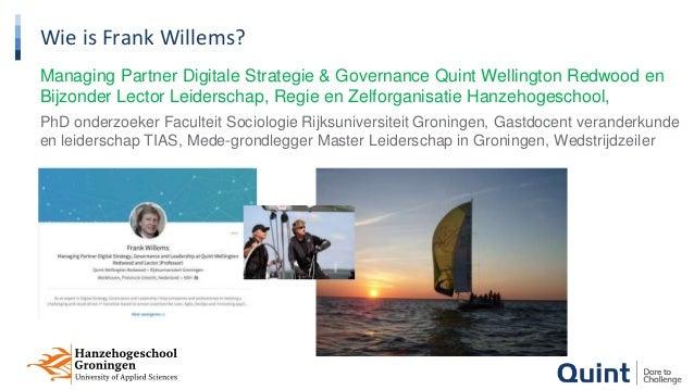 Lezing Frank Willems Grootste Kennisfestival 27 september 2017 Slide 2
