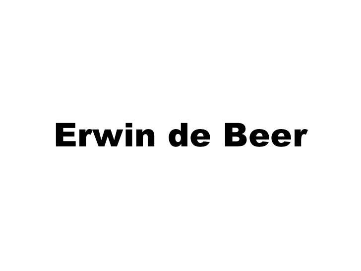 Erwin de Beer<br />