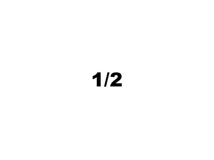 1/2<br />