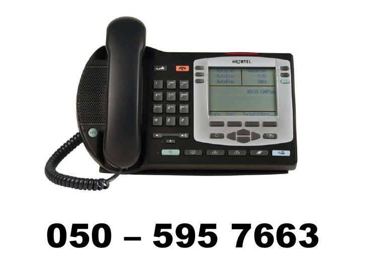 050 – 595 7663<br />