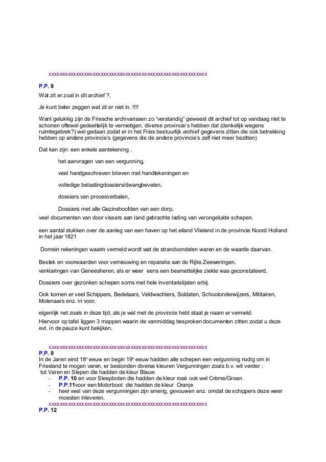 bedankbrief sollicitatie Lezing Provinciaal Bestuur Friesland Anton Musquetier bedankbrief sollicitatie