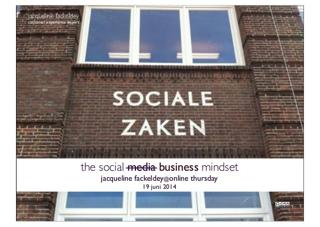 jacqueline fackeldey customer experience expert the social media business mindset jacqueline fackeldey@online thursday 19 ...