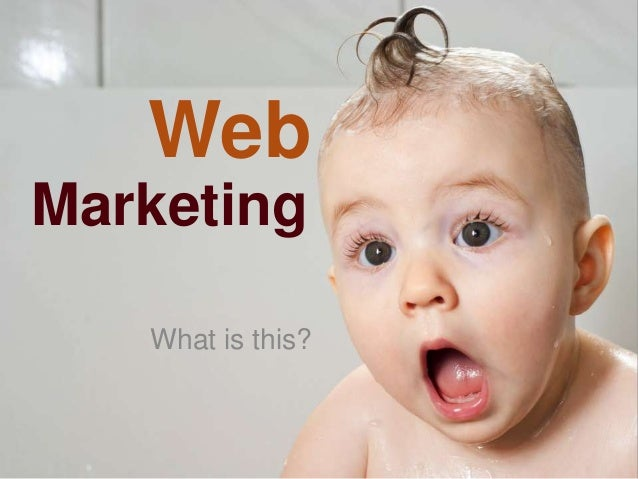 Web Marketing What is this?