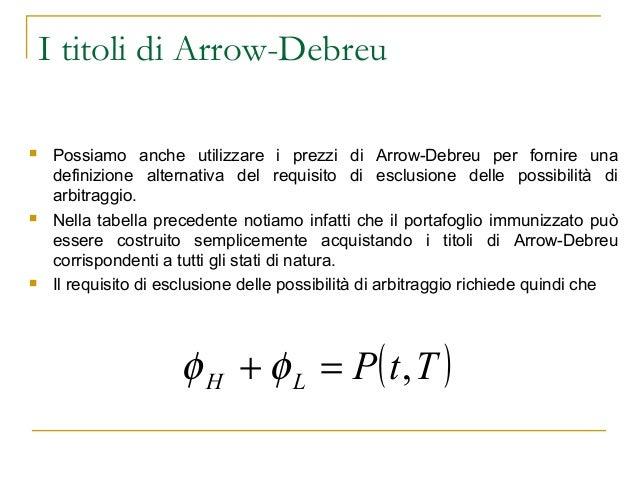Arrow debreu