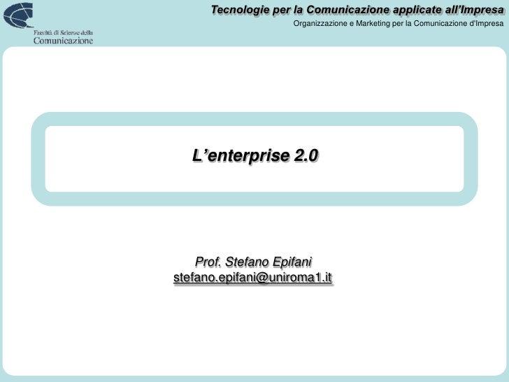 L'enterprise 2.0<br />