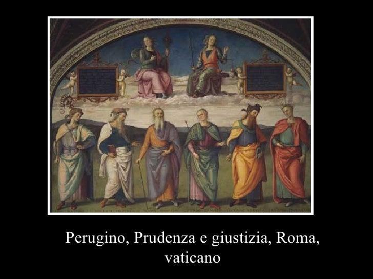 Perugino, Prudenza e giustizia, Roma, vaticano