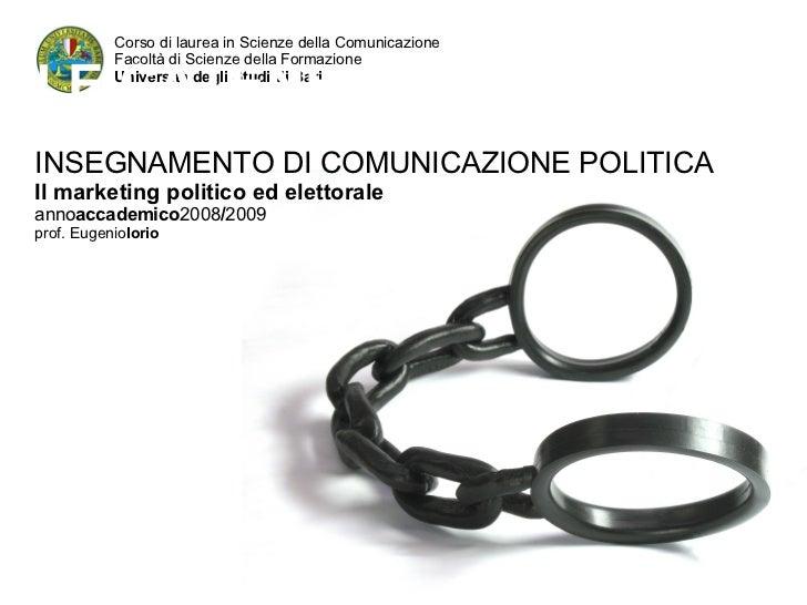 Corso di laurea in Scienze della Comunicazione  Facoltà di Scienze della Formazione  Università degli Studi di Bari LE CAT...